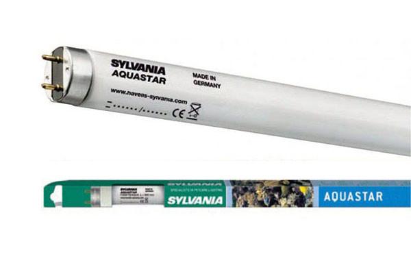 Лампа для аквариумов Sylvania F 18W/590мм Aquastar G13