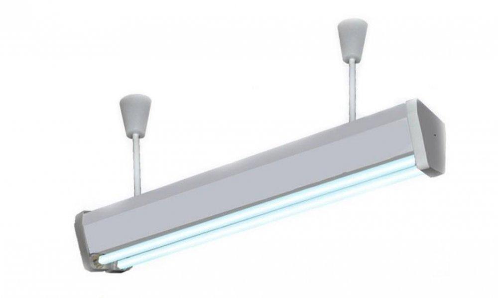 Облучатель бактерицидный (кварцевый) потолочный ОБП-300м (лампа Philips)