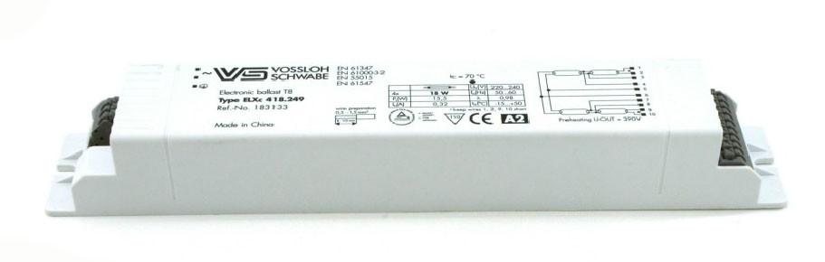 Балласт Vossloh-Schwabe ELXc 418.249 (T8 4 x 18W) CN