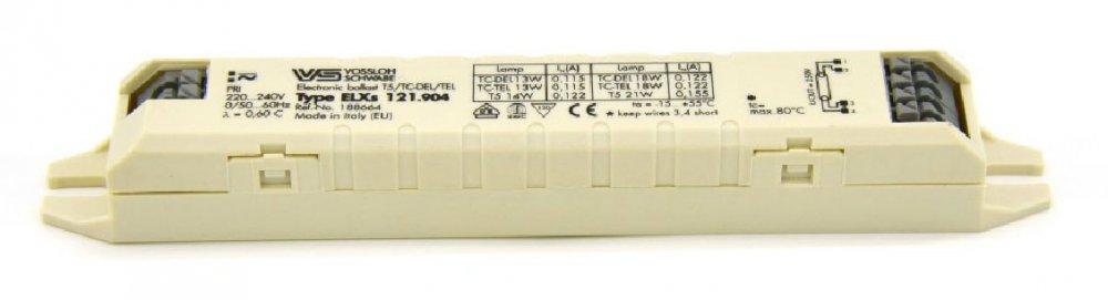 Балласт Vossloh-Schwabe ELXs 121.904 (T5 1x14/21W,TC1x13/18W)