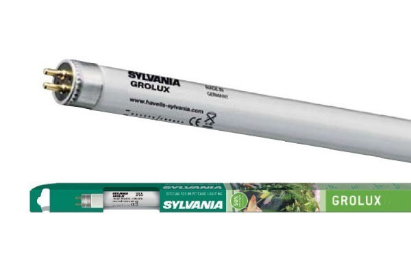 Лампа для аквариумов Sylvania F  8W/288мм Grolux G5