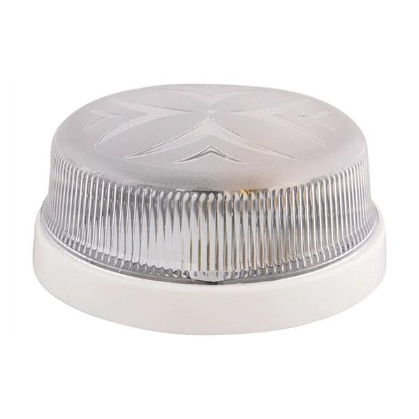 Светильник потолочный ERKA 1102 прозрачный/белый