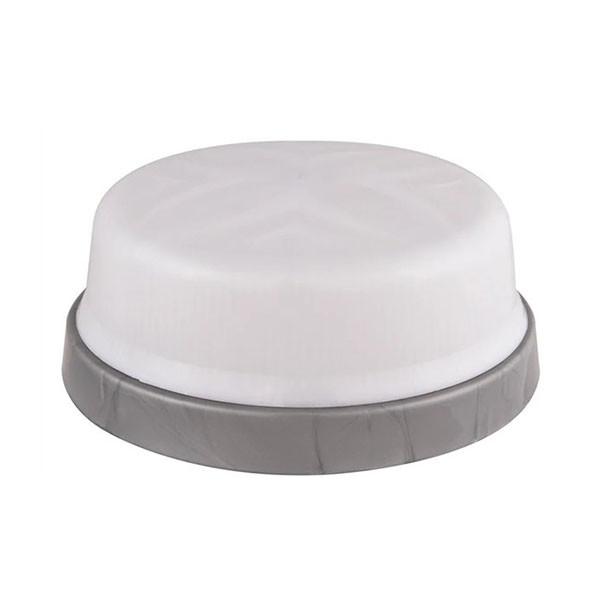 Светильник потолочный ERKA 1102-SB матовый/серебро