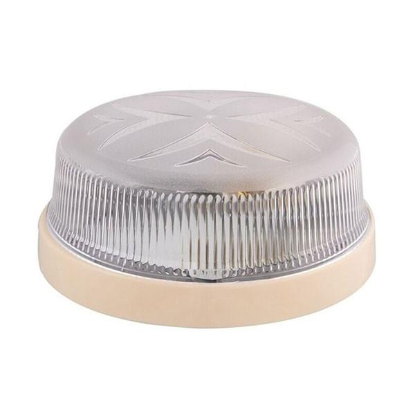 Светильник потолочный ERKA 1102-K прозрачный/слоновая кость