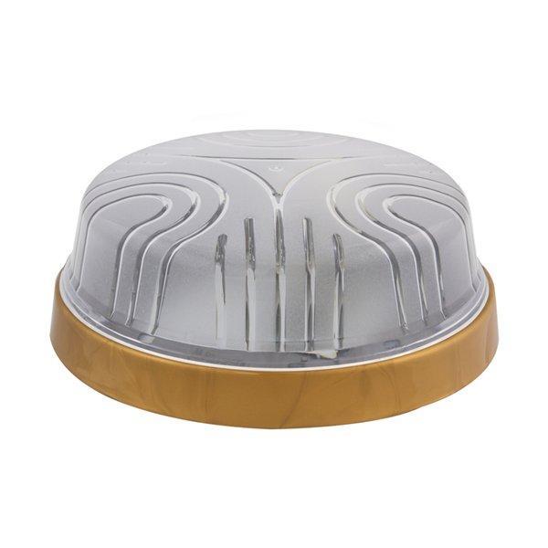 Светильник потолочный ERKA 1103-G прозрачный/золото