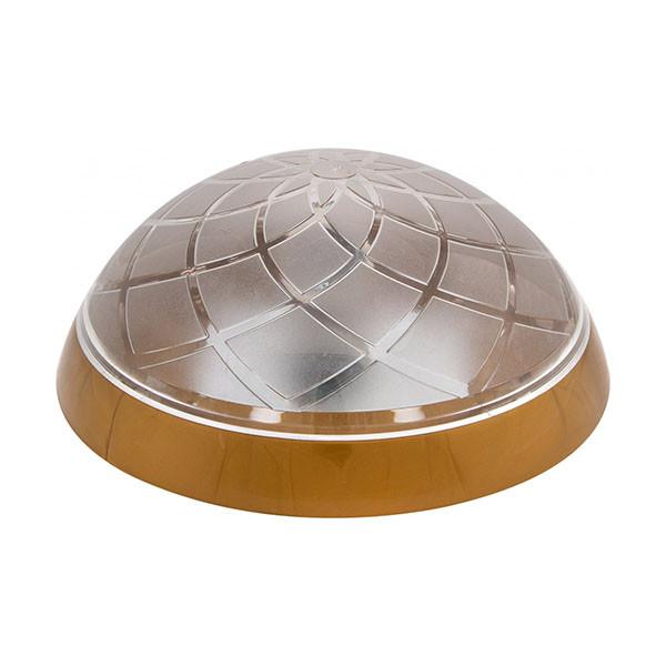Светильник потолочный ERKA 1127 LED-G 12W 4200 К прозрачный/золото