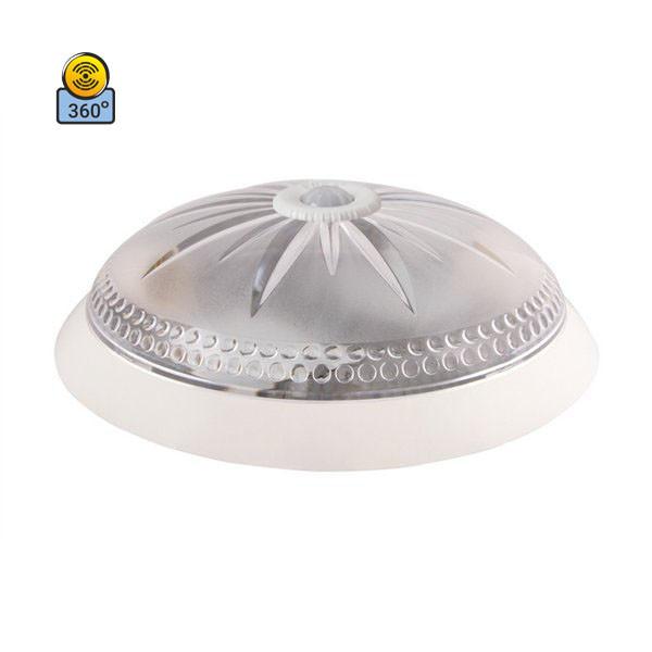 Светильник потолочный ERKA 1149D LED 24W 4200 К прозрачный/белый с датчиком движения