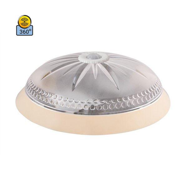 Светильник потолочный ERKA 1149D LED-K 24W 4200 К прозрачный/слоновая кость с датчиком движения