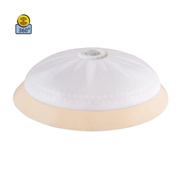 Светильник потолочный ERKA 1149D LED-KB 24W 4200 К матовый/слоновая кость с датчиком движения