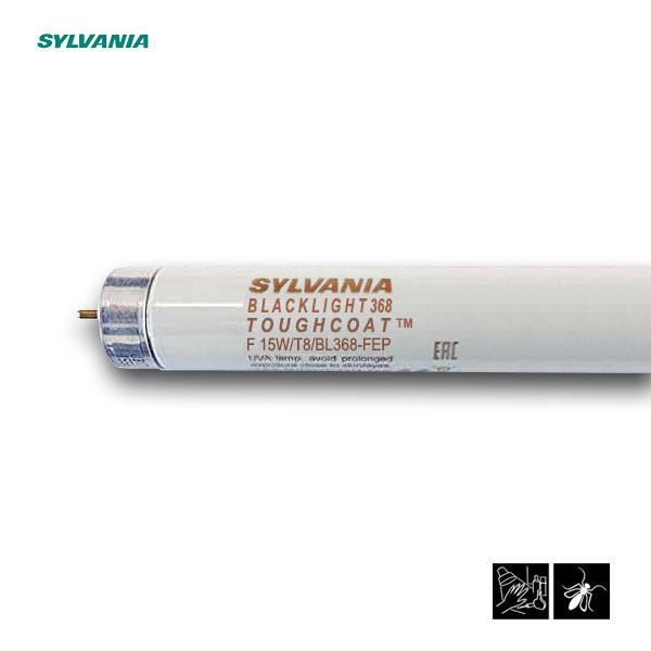 Лампа ультрафиолетовая в ловушки для насекомых Sylvania F15W/T8/BL368-FEP G13