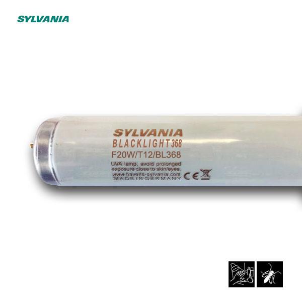 Лампа ультрафиолетовая в ловушки для насекомых Sylvania F20W/T12/BL368 G13