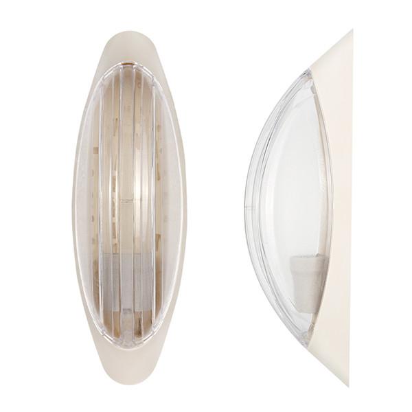Светильник настенный ERKA 1205-K прозрачный/слоновая кость