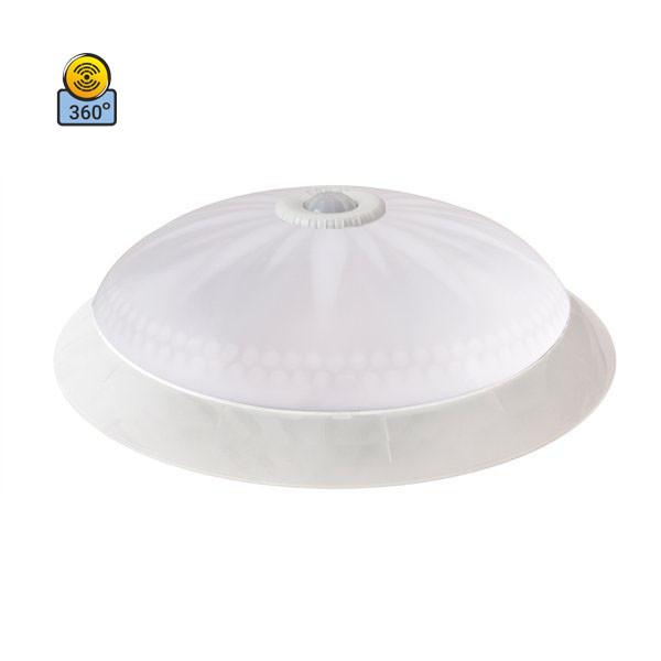 Светильник потолочный ERKA 1149D LED-PB 24W 4200 К матовый/прозрачный с датчиком движения