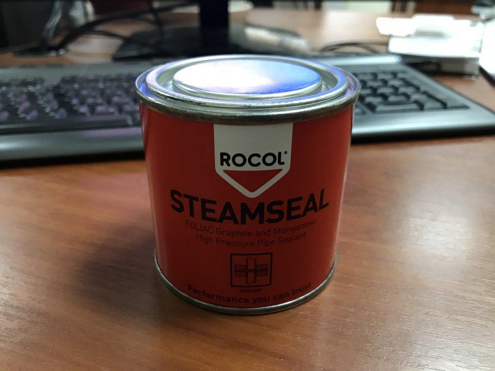 [Copy] Уплотнительная паста Steamseal, герметик-прокладка 600 оС, 19 МПа