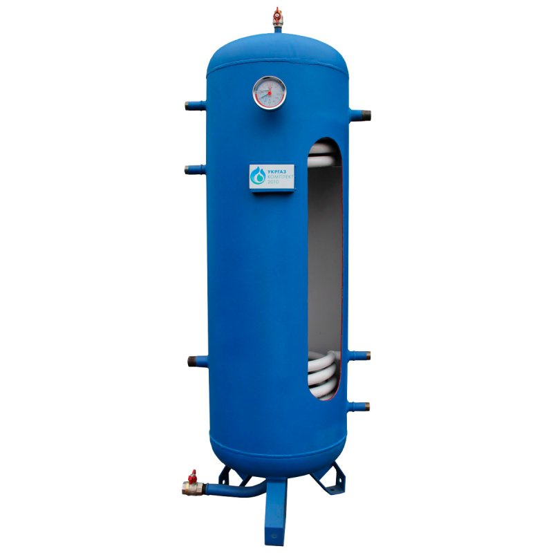 Buy Teplobak (Heat accumulator) 200 liters, with 1 coil, without insulation