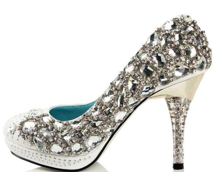 dda834eb4807 Свадебные туфли со стразами купить в Киеве