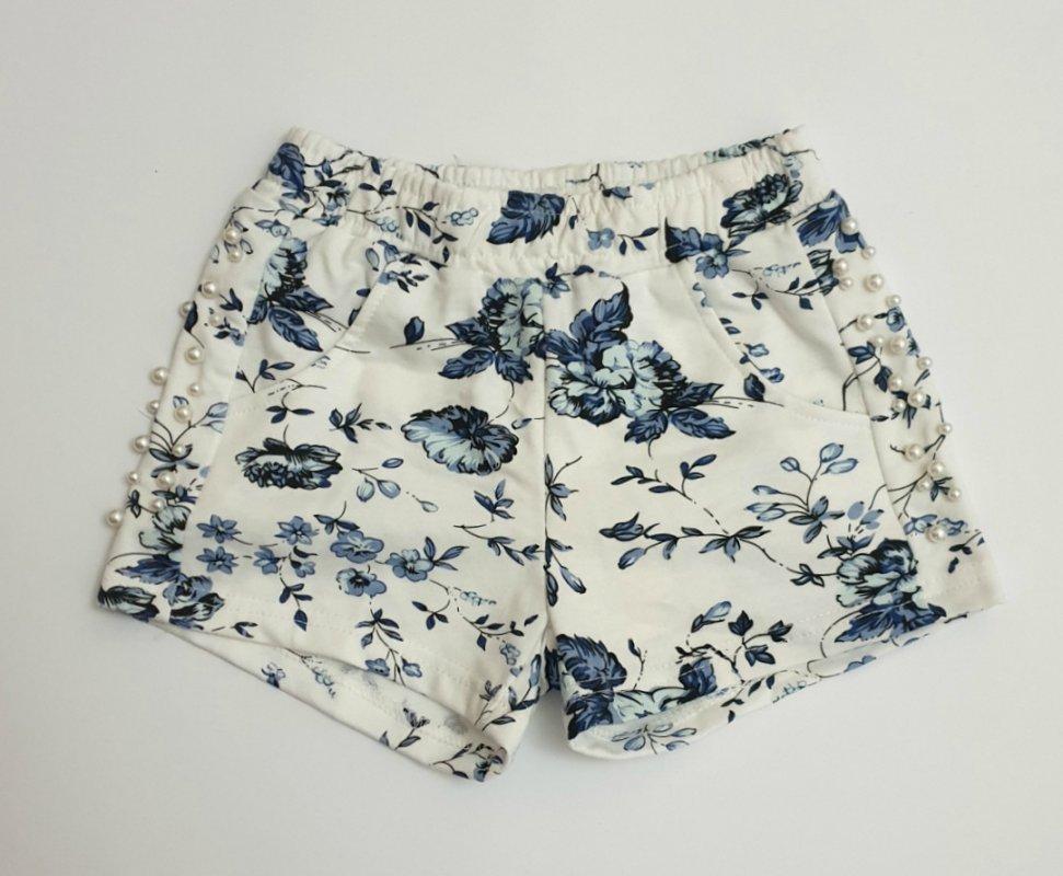 Купить Короткие трикотажные шорты на резинке для девочки