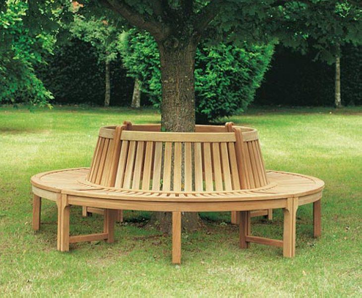 садовые скамейки фото из дерева