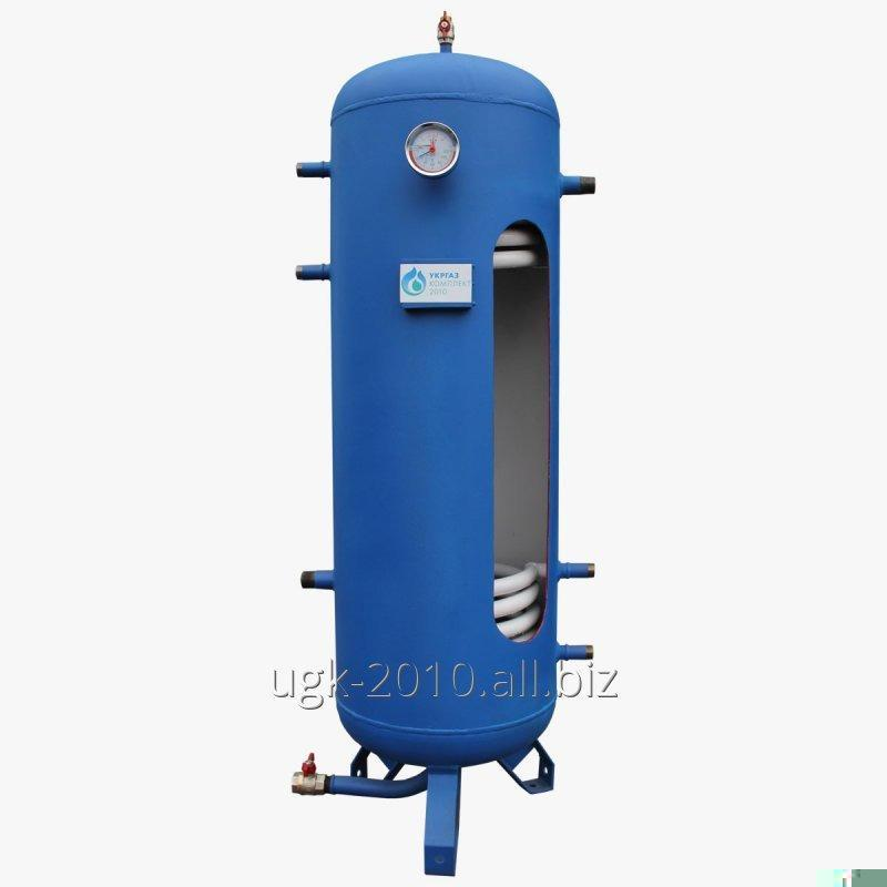 Buy Heat accumulator 200 liters, with 2 coils, without insulation