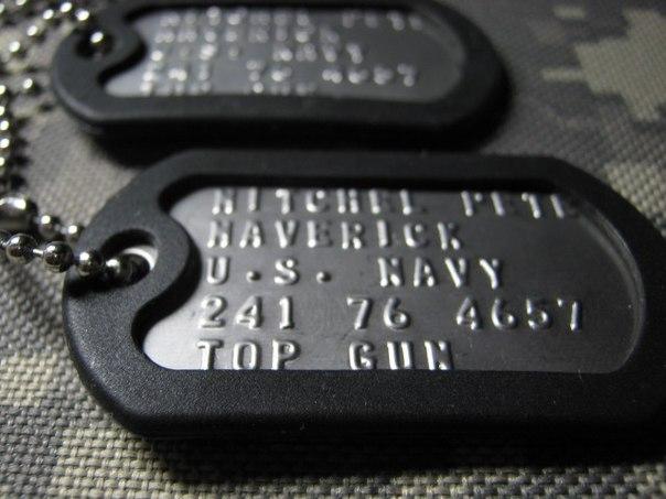 Купить Именной армейский жетон dog tag