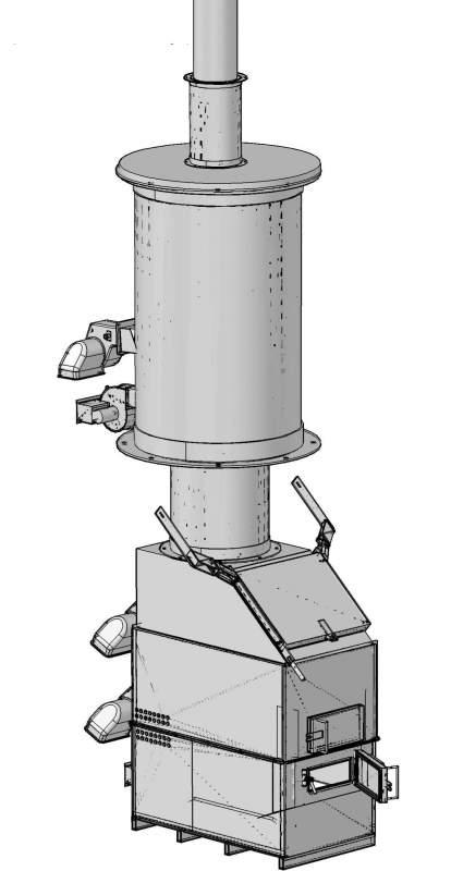 Термический утилизатор УТ500
