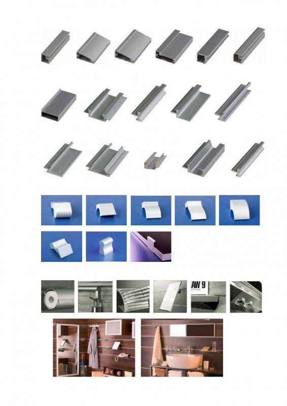 Алюминиевые профили zobal: фасадные профили, профили для фас.