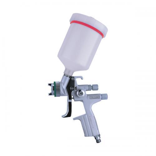 Краскопульт пневматический HVLP верх.пласт.бачок 600мл, форсунка-1,3мм ITALCO H-5000-1.3