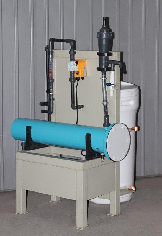 Blok elektrolytische waterdesinfectie installatie Flame-2