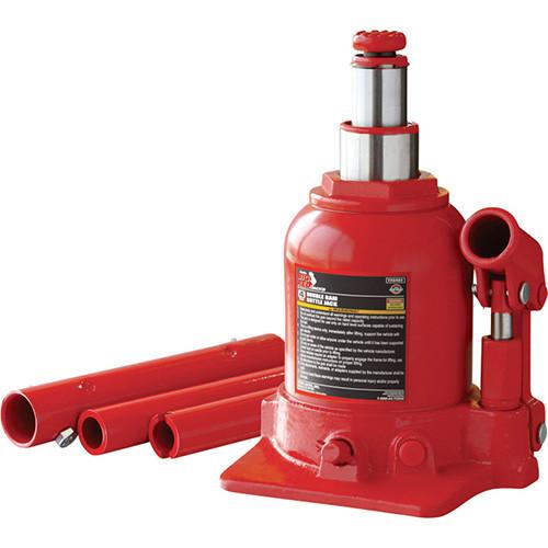 Домкрат бутылочный 4т (150-370 мм) TORIN