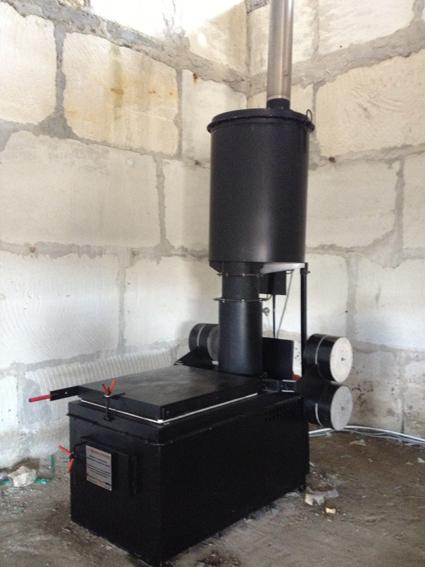 Камера дожига для утилизатора термического
