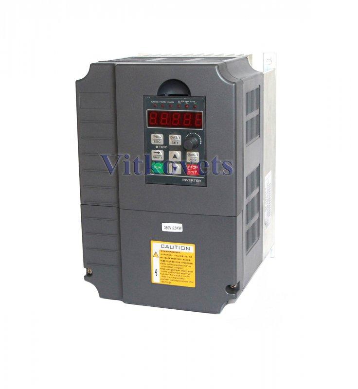 Купить Инвертор GT-5R5G-4, 5.5KW 13A 0-400Hz 380V три фазы