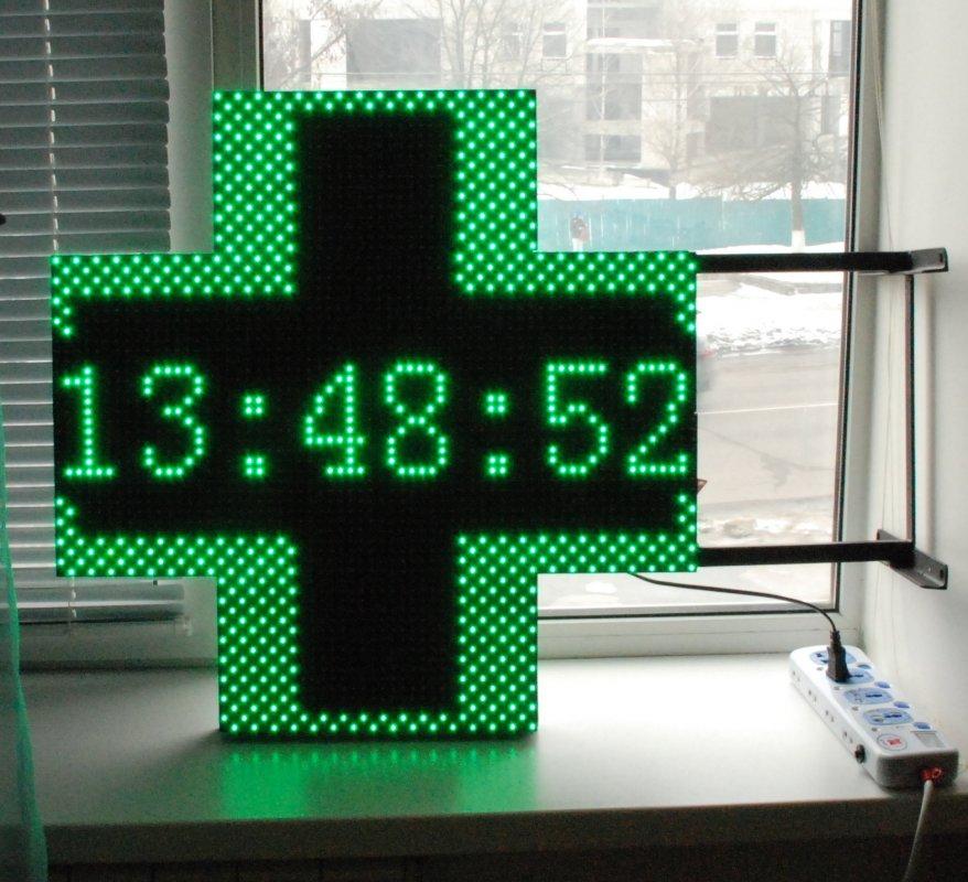Buy Pharmaceutical cross a bilateral, LED cross for a drugstore