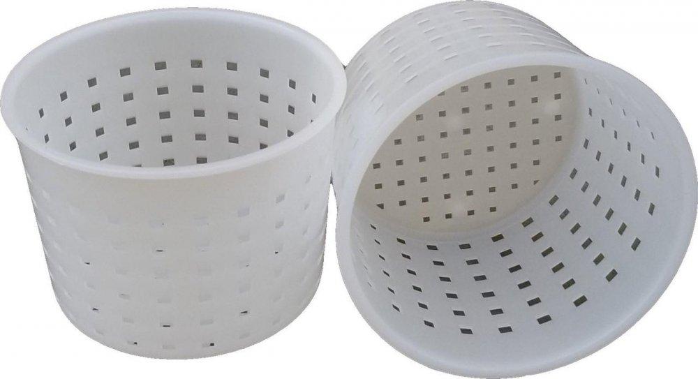 Купить Форма для приготовления сыра сулугуни 0,35 литра Ø95 мм пластиковая (ЧП КВВ)