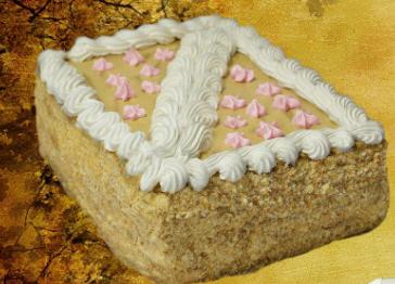 Торты бисквитные коржи с масляным