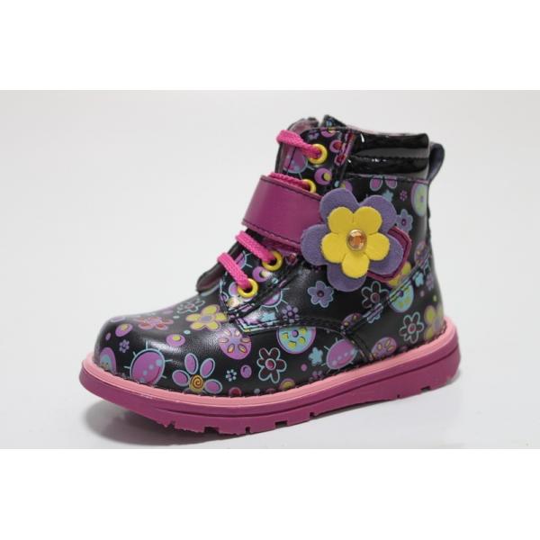 Демисезонный ботинки для девочки BG Красота черные купить в Днепр 35e64e08f5557