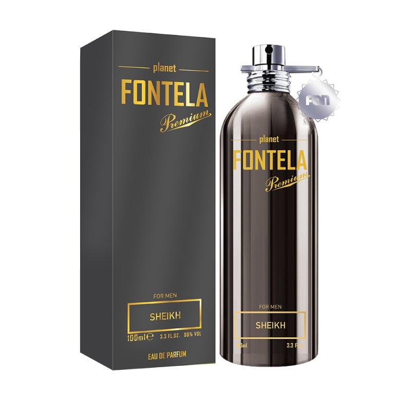 Парфюмированная вода Fon cosmetics Fontela Premium SHEIKH, 100 мл