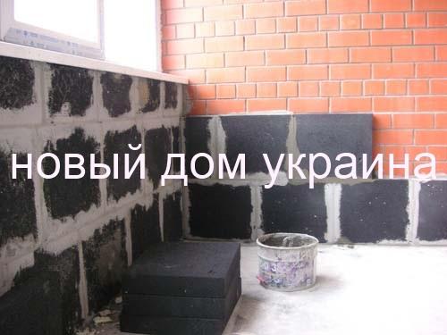 Пеностекло фасадное