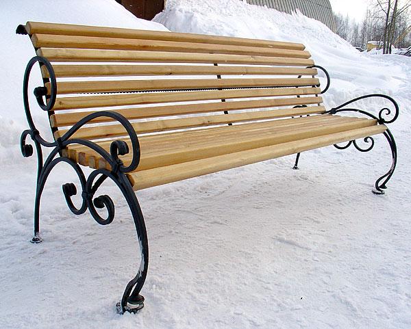 Купить Кованые скамейки