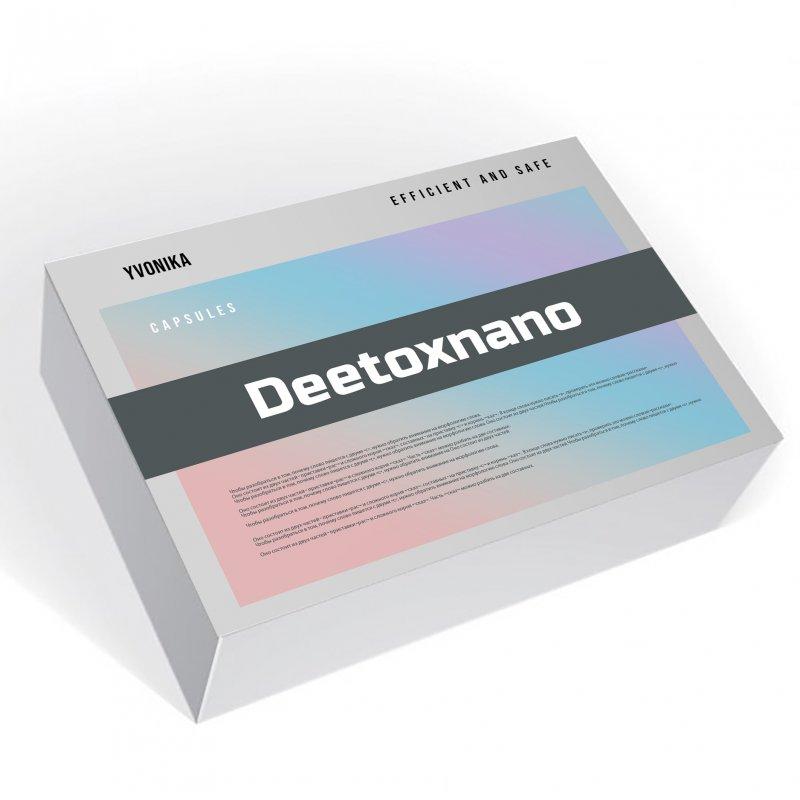 Deetoxnano (Дитокснано) - капсулы для очищения организма