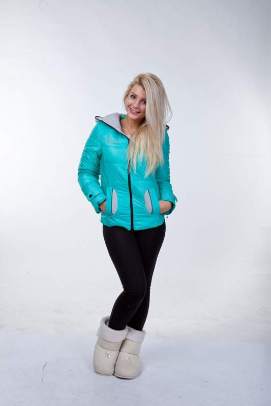 """Купить Куртка """"Габана"""",женская одежда оптом , Харьков , верхняя одежда от производителя"""
