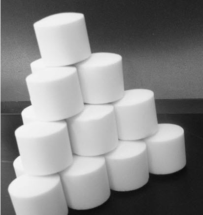 La sal tabletirovannaya, la pastilla (Ucrania)