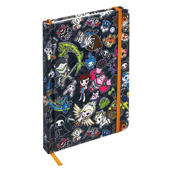 Купить Блокнот tokidoki x Overwatch Heroes Pattern Overwatch 112165