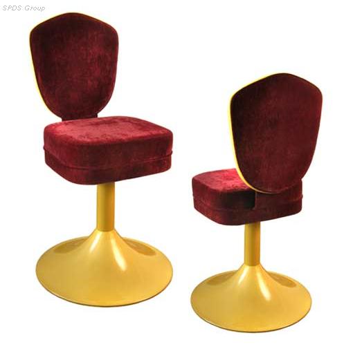 Стул ST-01, стулья вращающиеся с мягкой обивкой  для бара, ресторана, кафе