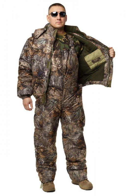 Купить Зимний дышащий костюм, штаны полукомбинезон зимний (Лесная чаща) Есть все размеры с 46-66