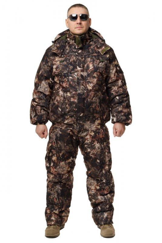Купить Зимний дышащий костюм, штаны полукомбинезон зимний (Хвоя ) Есть все размеры с 46-66