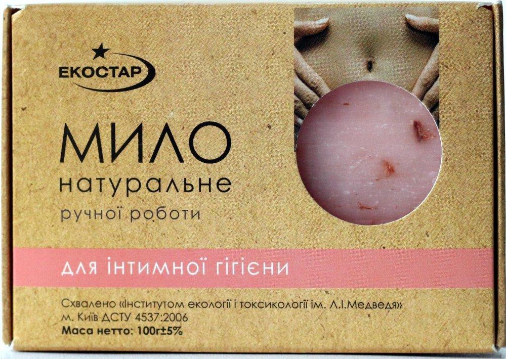 Мыло Для интимной гигиены ТМ ЭКОSTAR