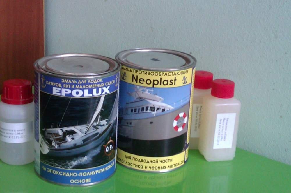 эпоксидные краски для лодок купить