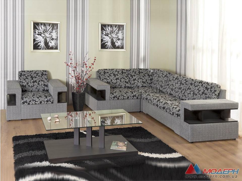 Угловая мягкая мебель для зала фото цены