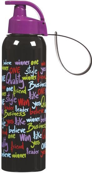 Купить Бутылка спортивная Herevin Retro 750мл с петлей для переноса