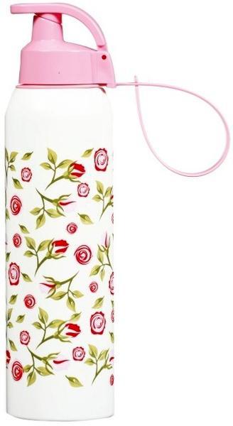 Купить Бутылка спортивная Herevin Rose 750мл с петлей для переноса